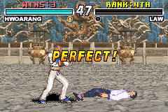 Tekken Advance - always perfect - User Screenshot